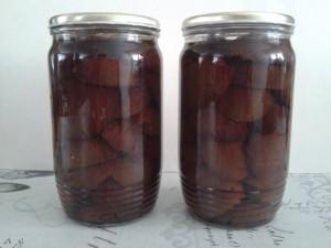 Švestkový kompot recept