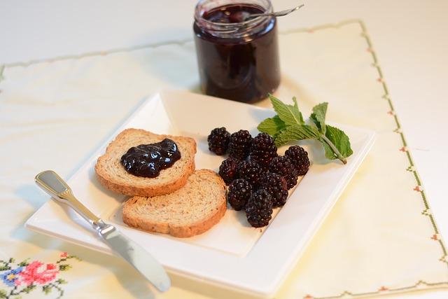 Ostružinový džem recept