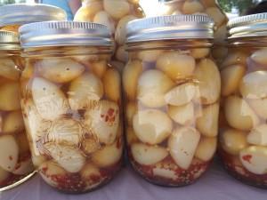 Nakládaný česnek recept