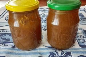 Hruškový džem recept