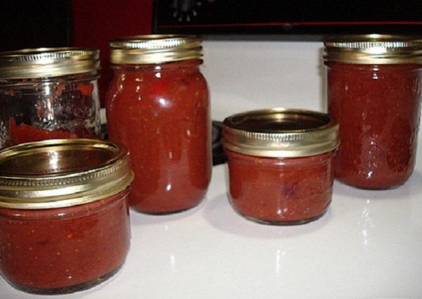 Rajčatové chutney recept
