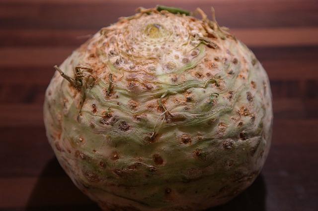 Sušený celer postup
