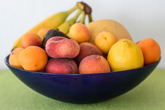 Minerální látky v ovoci tabulka