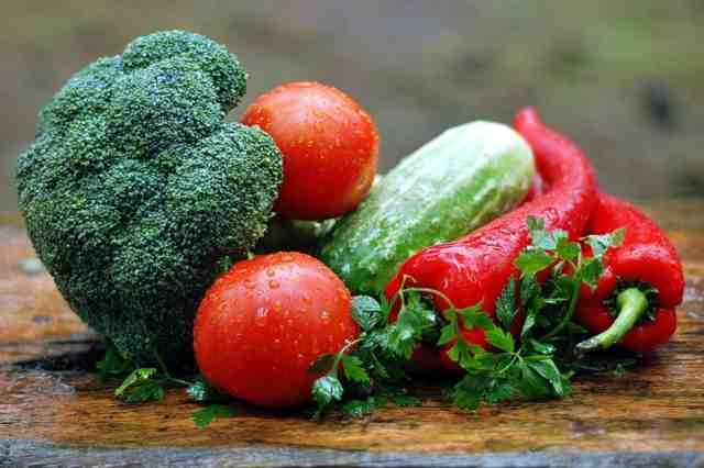 Obsah minerálních látek v zelenině tabulka