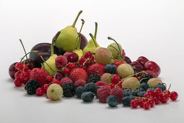 Množství pektinu v ovoci tabulka