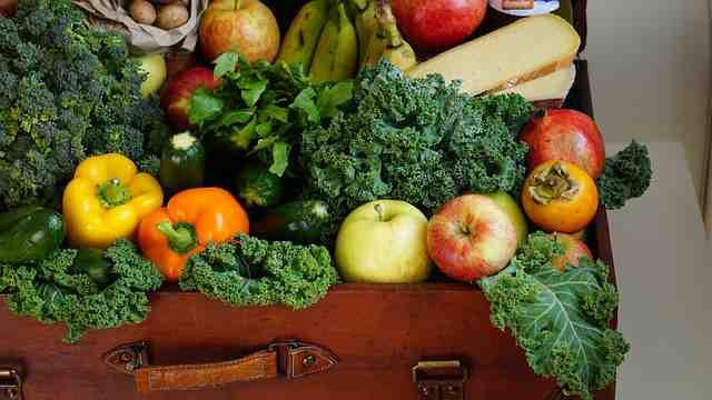 Vitamíny v ovoci a zelenině tabulka, přehled