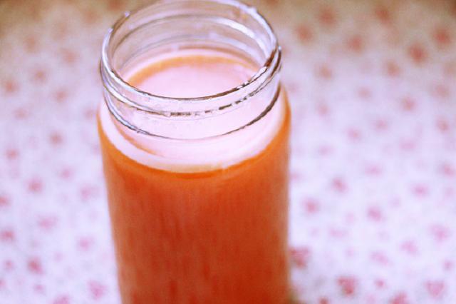 Meruňkový džus recept