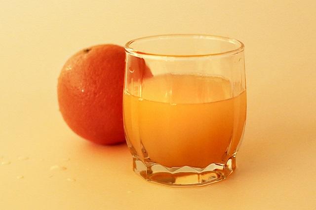 Domácí pomerančová šťáva a její účinky