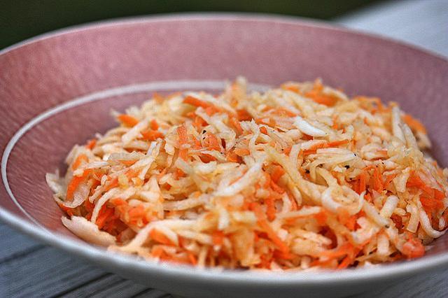 Kořenová zelenina v soli - recept
