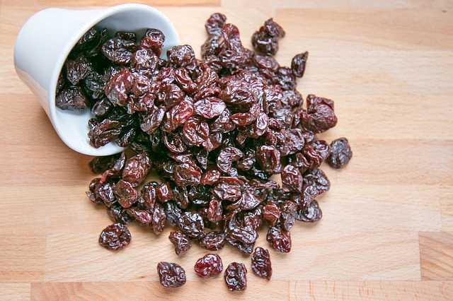 Sušené višně recept